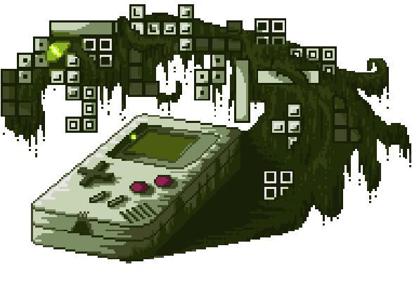 Game Boy Nintendo Tetris Pixel Art Xtreme Retro