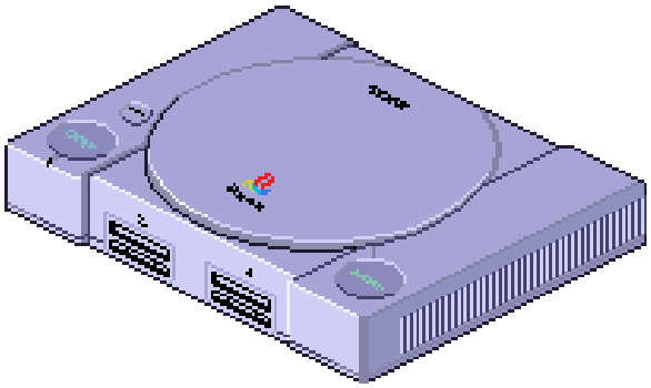 Sony PlayStation Pixel Art Xtreme Retro 32 Bits PSX PSOne