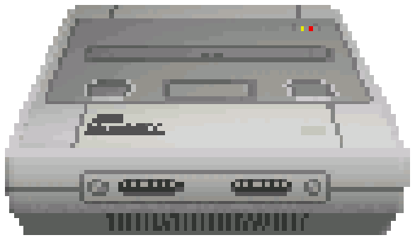 Super Famicom SNES Super Nintendo Pixel Art Xtreme Retro Nintendo