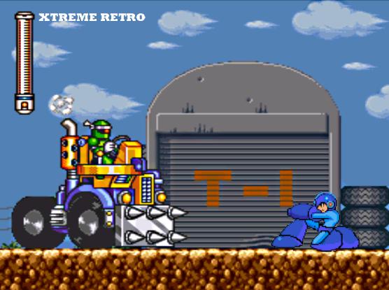 Megaman 7 Super Famicom Pixel Art