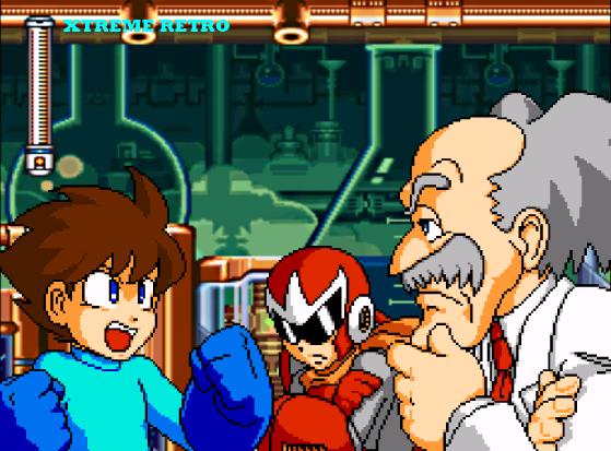 Megaman 7 Super Nintendo Pixel Art Capcom
