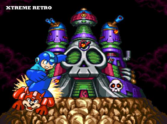 Megaman 7 Super Nintendo Pixel Art