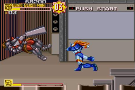 Sonic Blast Man 2 SNES