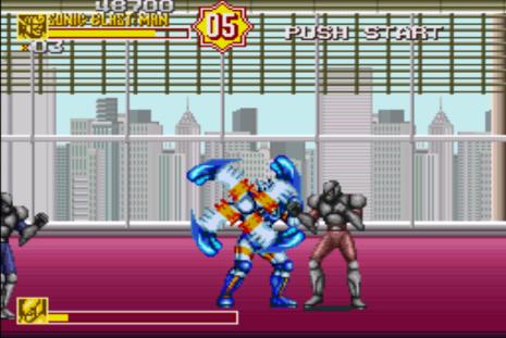 Sonic Blast Man II SNES