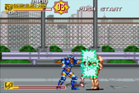 Sonic Blast Man Taito