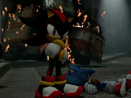 Sonic Shadow Hedgehog