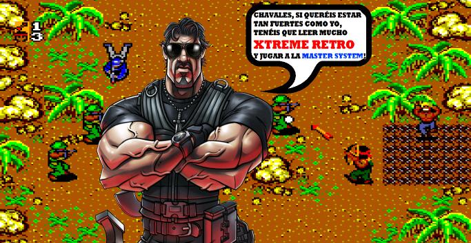 Rambo Master System 8 bits