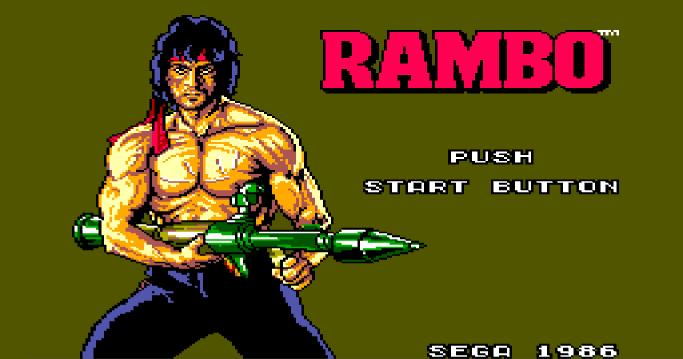Rambo Master System Sega