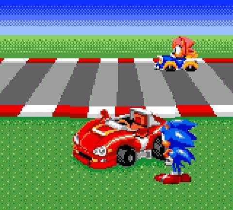 Sonic Drift Game Gear