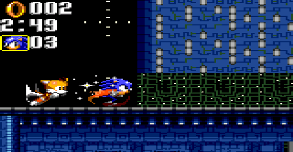 Sonic Triple Trouble Game Gear Atomic Destroyer Zone