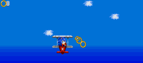 Sonic Triple Trouble Game Gear Special Stage