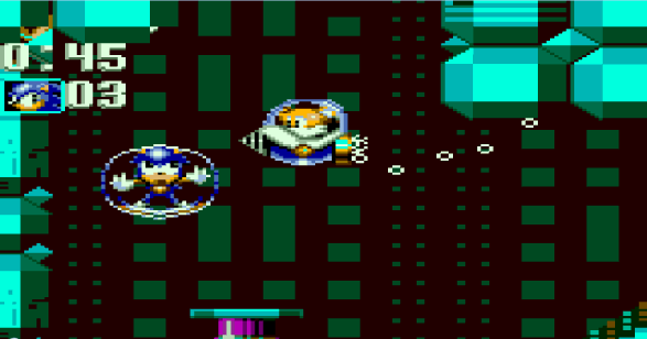Sonic Triple Trouble Game Gear Tidal Plant Zone