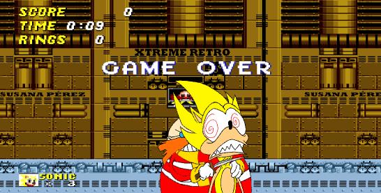 Sonic the Hedgehog 2 Death Egg Pixel Art