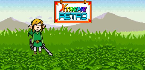 The Legend of Zelda Link Pixel Art GBA