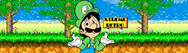 Luigi & Sphaguetti Header Mario Pixel Art