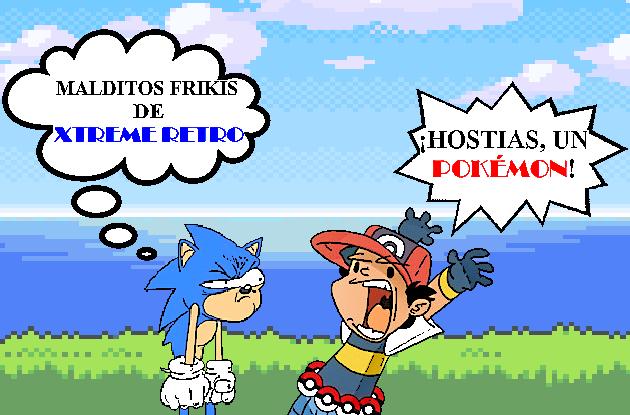 Pokémon Sonic Ash Ketchum Pixel Art Xtreme Retro
