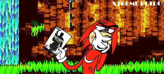 Sonic 3 Knuckles Header Pixel Art