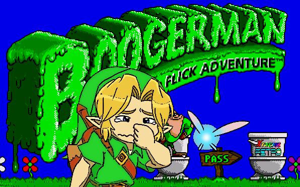 Boogerman Sega Genesis Mega Drive Interplay SNES Pixel Art A Pick and Flick Adventure