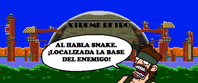 Metal Gear Big Boss Pixel Art
