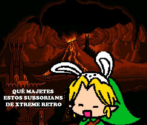 Link Legend of Zelda Bunny Ears Pixel Art 2