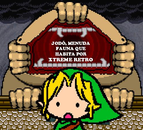 Link Legend of Zelda Final Boss Pixel Art 2