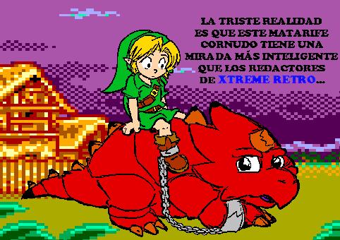 Link Legend of Zelda Oracles Dimitri Pixel Art 2