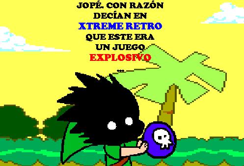 Link Legend of Zelda Pixel Art Bomb 2