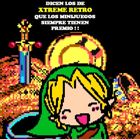 Link Legend of Zelda Treasure Pixel Art 2