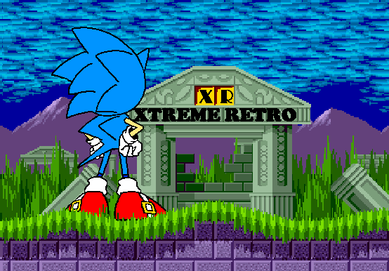 Sonic 1 Marbre Zone Mega Drive Pixel Art Xtreme Retro