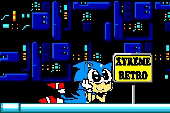 Sonic 1 Master System Final Zone Pixel Art Xtreme Retro