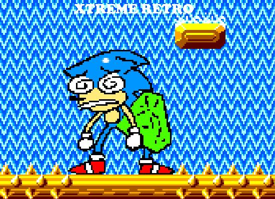 Sonic 1 Master System Jungle Zone Act 2 Xtreme Retro Pixel Art