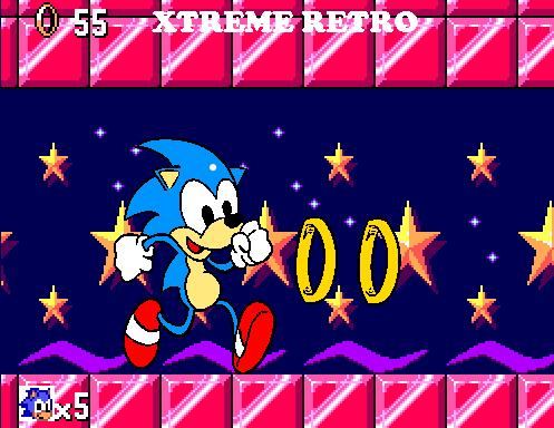 Sonic 1 Master System Pixel Art Xtreme Retro