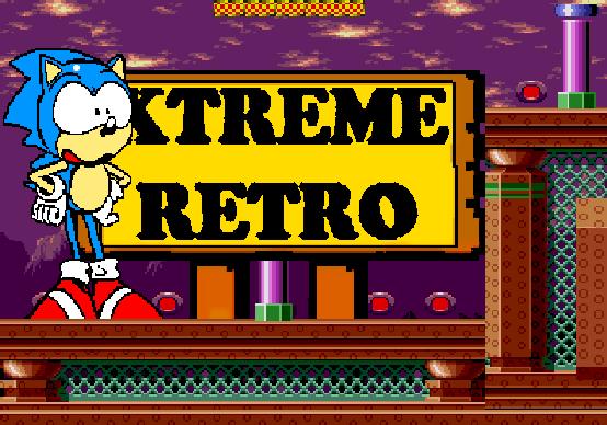 Sonic 1 Mega Drive Sega Genesis Pixel Art Xtreme Retro Spring Yard Zone