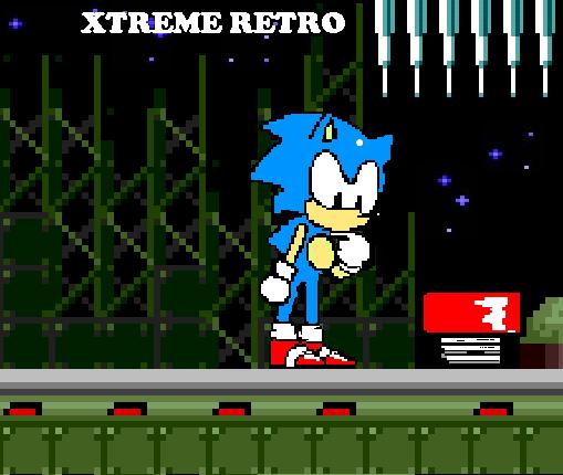 Sonic 1 Mega Drive Star Light Zone Pixel Art Xtreme Retro