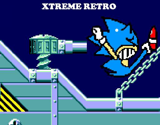 Sonic 1 Sky Base Zone Master System Pixel Art Xtreme Retro