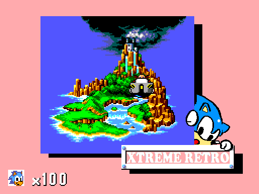 Sonic Master System Pixel Art Map Xtreme Retro