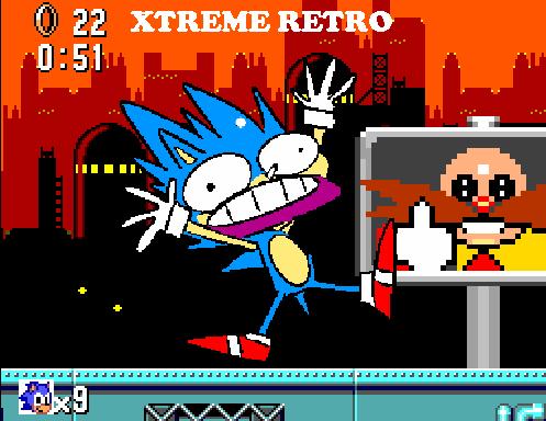 Sonic Master System Pixel Art Scrap Brain Xtreme Retro (2) Game Gear