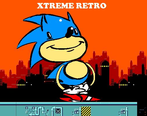 Sonic Master System Pixel Art Scrap Brain Xtreme Retro