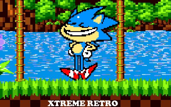 Sonic Mega Drive Sega Genesis Pixel Art Xtreme Retro