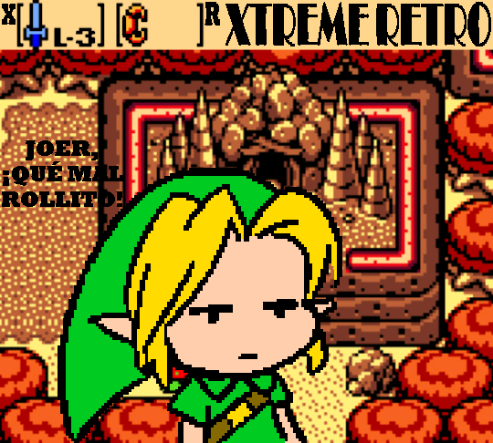 The Legend of Zelda Oracle of Ages Pixel Art Xtreme Retro
