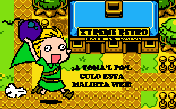 The Legend of Zelda Oracle of Seasons Pixel Art Xtreme Retro Link