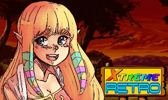 Princess Zelda Artwork Xtreme Retro