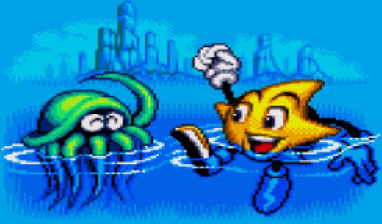 Ristar Pixel Art Sega Mega Drive Xtreme Retro