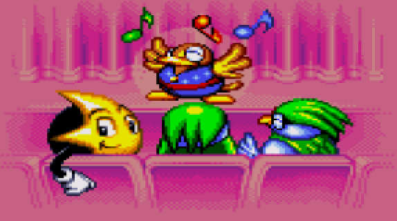 Ristar Planet Sonata Pixel Art