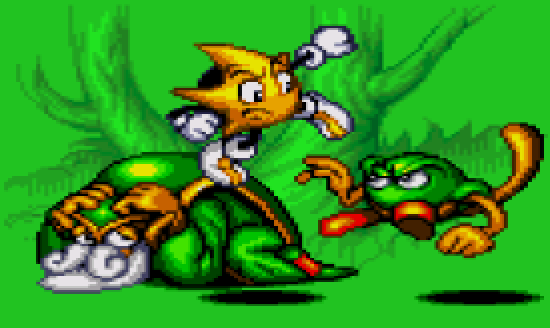 Ristar Xtreme Retro Pixel Art