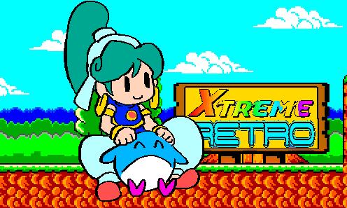 Wonder Boy Monster World Sega Pixel Art Xtreme Retro Asha Pepelogo