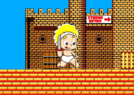 Wonder Boy in Monster Land Pixel Art Arcade