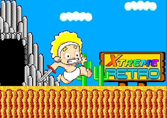 Wonder Boy in Monster Land Pixel Art Xtreme Retro Arcade SMS