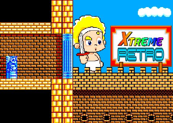 Wonder Boy in Monster Land SEGA Pixel Art Xtreme Retro
