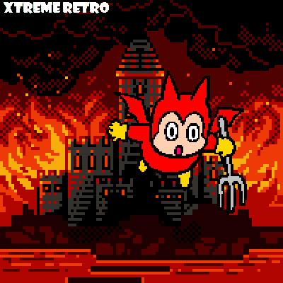 Hell Pixel Art
